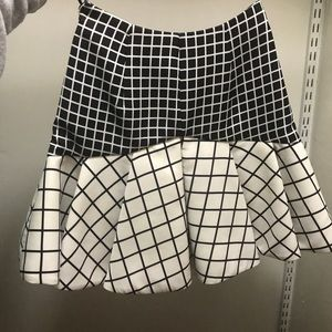 C/MEO Collective Black and White Skirt